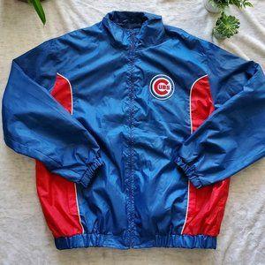 Vintage Chicago Cubs Baseball Windbreaker Jacket